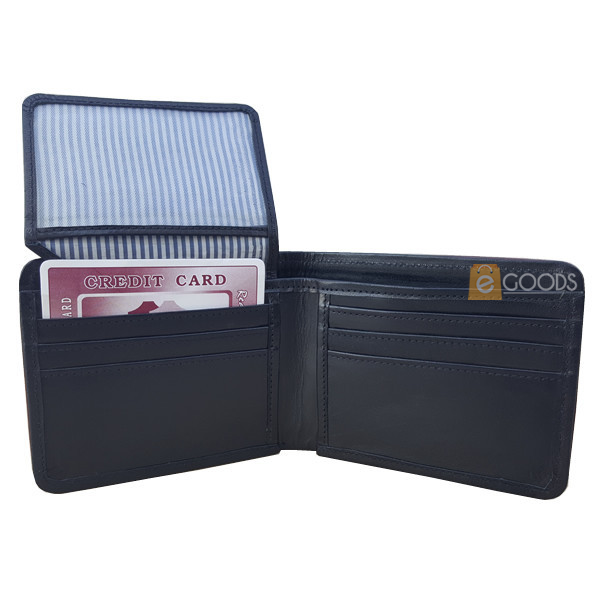 13 Pockets Black Wallet for Men (MAW-UP-SB)