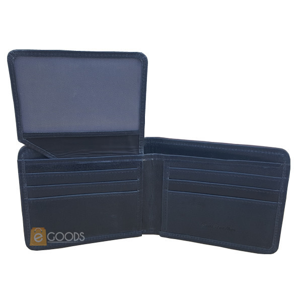 13 Pockets Blue Wallet for Men (MAW-UP-BL)