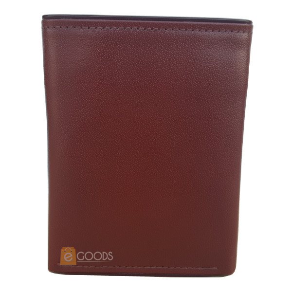 Round Edges Bi-Fold Brown Wallet for Men (MAW-TFUP-BM)