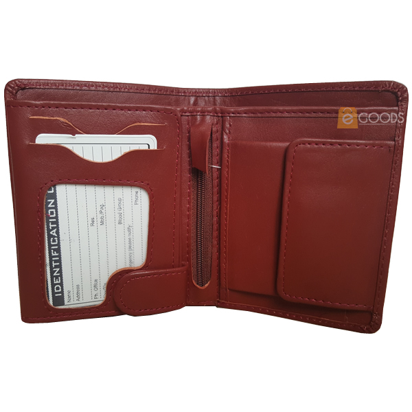 19 pockets reddish brown wallet for men (MAW-JS4-RB)