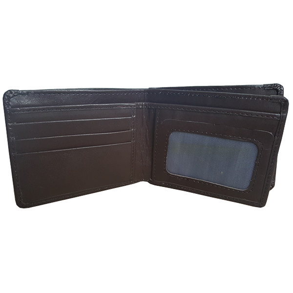 16 Pockets Brown Leather Wallet For Men (MAW-UK5-BM)