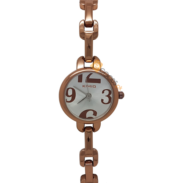 Kimio Copper Women Slim Watch