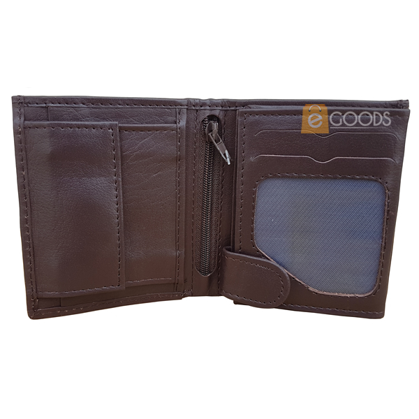 15 Pockets Brown Wallet For Men (SJ4S-BM)