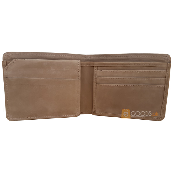 13 Pockets Light Brown Nubuck Style (Velvet type) Wallet for Men (MAW-NB-10)