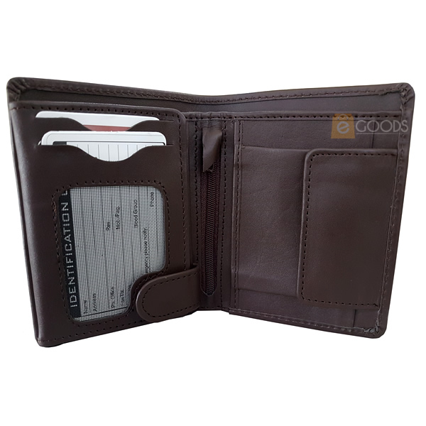 19 Pockets Leather Wallet For Men
