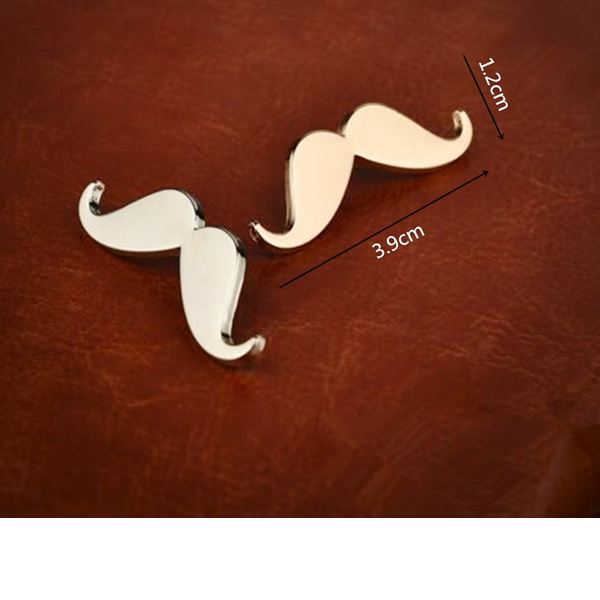 Bovvsky Men Moustache Brooch for Men