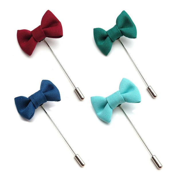 Unisex Bowknot Fashion Brooch Pins