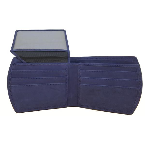 11 Pockets Nubuck Style (Velvet Type) Leather B Pair Wallet For Men