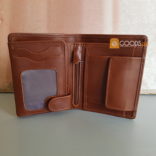 19 Pockets Pull-up Leather Wallet For Men