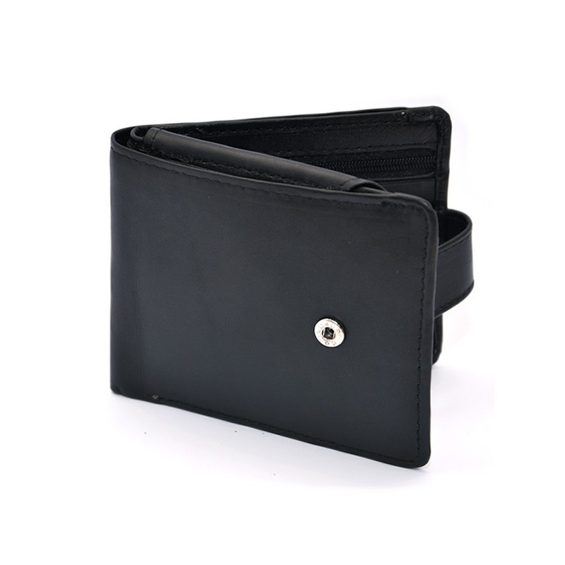 Wallet with Strap and Round Edges